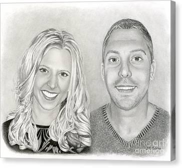Siblings Canvas Print by Sarah Batalka
