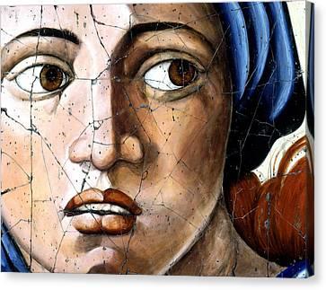 Sibyl Of Delphi - Study No. 1 Canvas Print by Steve Bogdanoff
