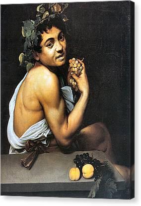 Sick Bacchus  Canvas Print by Michelangelo Merisi da Caravaggio