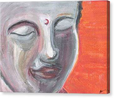 Siddharta Canvas Print by Michelle Foster