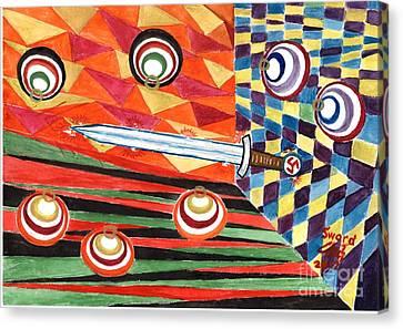 Siegfried's Sword Canvas Print by Sergey Molchanov