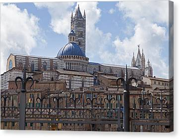 Siena Cathedral Canvas Print by Adrian Alford