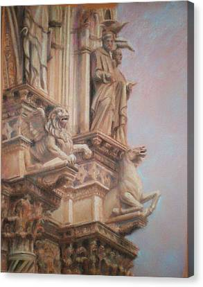 Siena Cathedral Canvas Print by Paez  Antonio