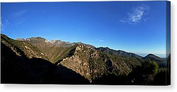 Sierra De Enmedia Mountains,north East Canvas Print by Panoramic Images