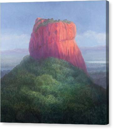 Sigiriya I, Sri Lanka, 2012 Acrylic On Canvas Canvas Print by Lincoln Seligman