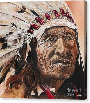 Signs Of His Times Canvas Print by Annalise Kucan