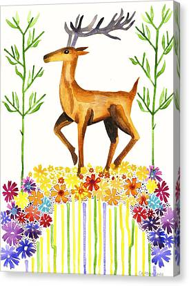 Signs Of Spring Canvas Print by Cat Athena Louise