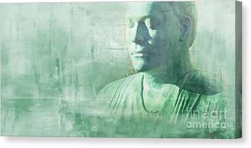 Silence Canvas Print by Lutz Baar