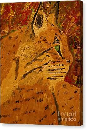 Silent Hunter Canvas Print by Harold Greer