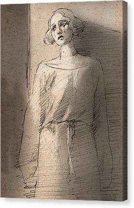 Silent Movie Canvas Print by H James Hoff