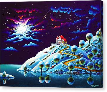 Silent Night 9 Canvas Print by Andy Russell