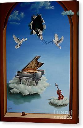 Silent Symphony Canvas Print by Svetoslav Stoyanov