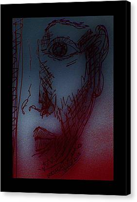 Silent Witness Canvas Print by Mimulux patricia no