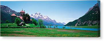 Sils Maria Switzerland Canvas Print by Panoramic Images