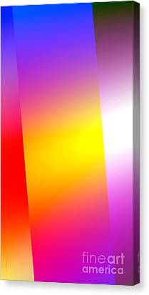 Simple Abstract Art Canvas Print by Mario Perez