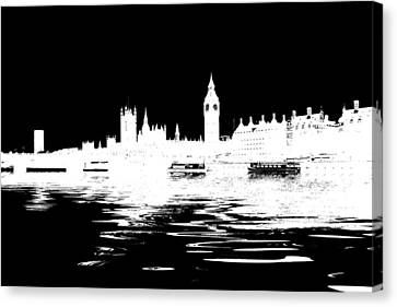 Simple Politics Canvas Print by Sharon Lisa Clarke