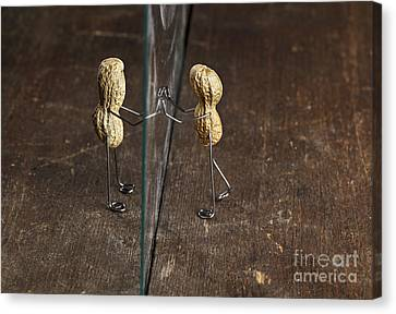 Simple Things - Apart Canvas Print by Nailia Schwarz