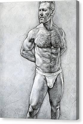 Simplicity 7 Canvas Print by Chris Lopez