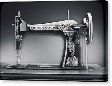 Singer Machine Canvas Print by Kelley King