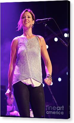 Singer Sarah Mclachlan Canvas Print by Concert Photos