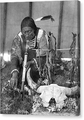 Sioux Medicine Man, C1907 Canvas Print by Granger