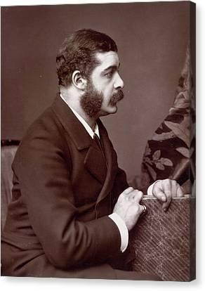 Sir Arthur Seymour Sullivan Canvas Print by British Library