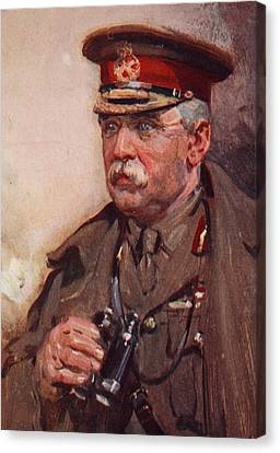 Sir John French Canvas Print by Cyrus Cuneo