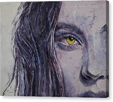Siren Canvas Print by Michael Creese