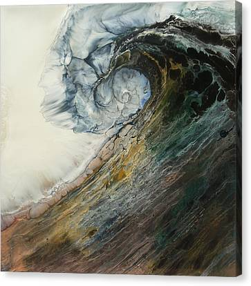 Siren Song Sold Canvas Print by Lia Melia