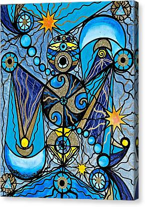 Sirius Canvas Print by Teal Eye  Print Store