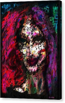 Sister Nyx Canvas Print by Brett Sixtysix
