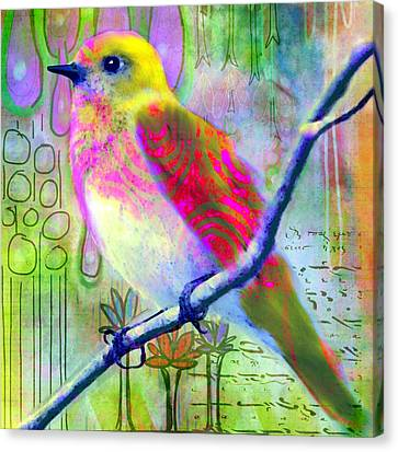 Sittin Pretty 2 Canvas Print by Robin Mead