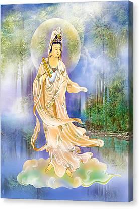 Six Times  Kuan Yin Canvas Print by Lanjee Chee