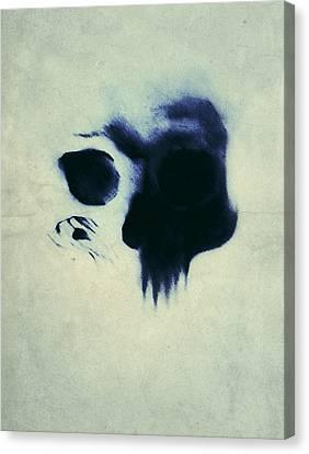 Skull Canvas Print by Nicklas Gustafsson