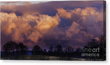 Sky Drama Canvas Print by Thomas R Fletcher