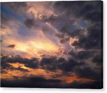Sky Moods - Depth Canvas Print by Glenn McCarthy