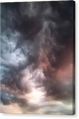 Sky Moods Canvas Print by Glenn McCarthy