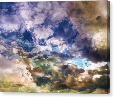 Sky Moods - Sea Of Dreams Canvas Print by Glenn McCarthy