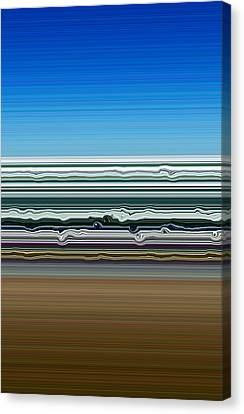 Sky Water Earth Canvas Print by Michelle Calkins