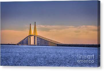 Skyway Bridge Canvas Print by Marvin Spates