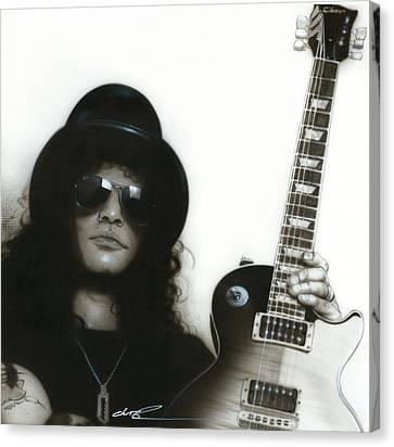 ' Slash ' Canvas Print by Christian Chapman Art