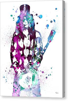 Slash  Canvas Print by Luke and Slavi