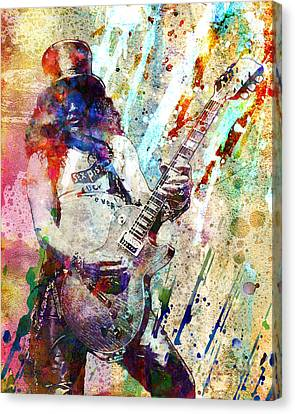 Slash Original  Canvas Print by Ryan Rock Artist