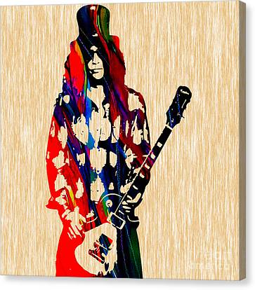 Slash Painting Canvas Print by Marvin Blaine