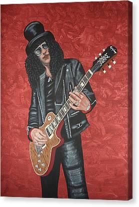 Slash Canvas Print by Tammy Rekito