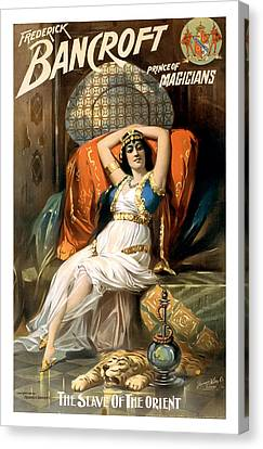 Slave Of The Orient Canvas Print by Terry Reynoldson