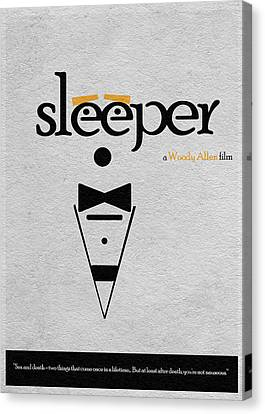 Sleeper Canvas Print by Ayse Deniz
