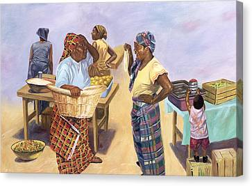 Sleight Of Hand Canvas Print by Colin Bootman