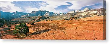 Slickrock, Snow Canyon State Park Canvas Print by Panoramic Images