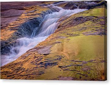 Slide Rock State Park, Oak Creek Canvas Print by Rob Sheppard